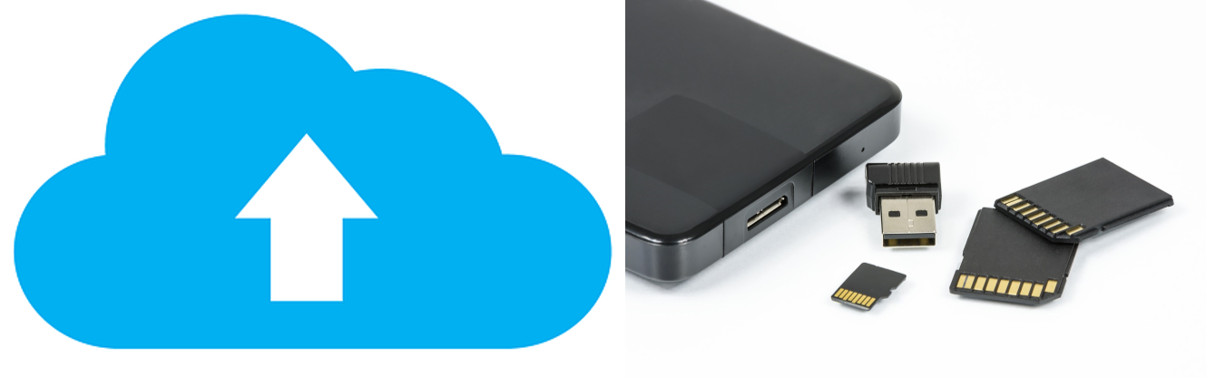 Cloud Backup v Local Backup